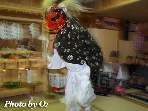 厚沢部町 椰子乃木(やしのき)神社・宵宮祭