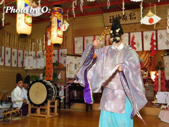 函館市 上湯ノ川稲荷神社・宵宮祭
