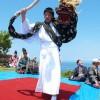 上ノ国町・夷王山神社で奏上された神楽舞