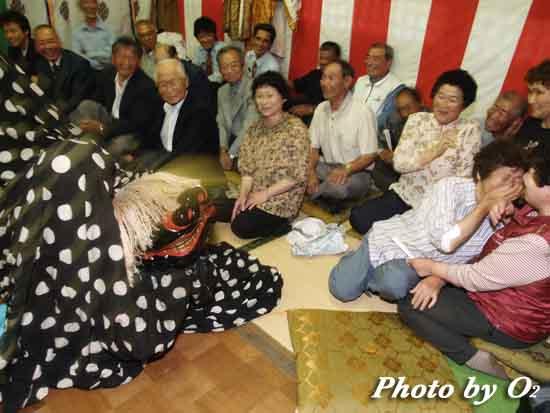 北海道 福島町 白符地区 白符大神宮 本祭 十二の手獅子舞