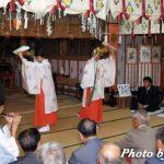 平成18年 函館市・尻岸内八幡神社宵宮祭「鈴上舞」