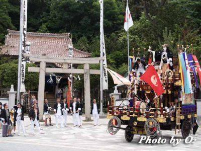 北海道 江差町 姥神大神宮渡御祭 山車 誉山 2005