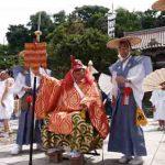 姥神大神宮渡御祭・猿田彦(平成18年)