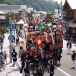 姥神大神宮渡御祭・いにしえ街道を行く山車(平成18年)