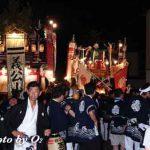 姥神大神宮渡御祭・夜の下町渡御(平成18年)