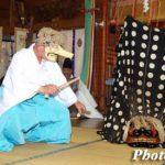 平成17年の福島町・福島大神宮宵宮祭 十二の手獅子舞・面足獅子