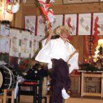 平成18年 函館市・上湯川稲荷神社宵宮祭「山神舞」