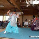 函館市・安浦稲荷神社例祭 神遊舞