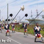 鹿部町・鹿部稲荷神社渡御祭「大岩奴振り」(平成19年)