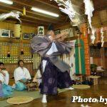 福島町・白符大神宮例祭 松前神楽「七五三祓舞」(平成19年)