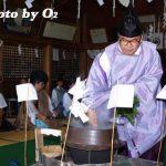 松前町・松前神社例大祭「鎮釜湯立神事」(平成19年)