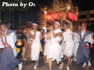 北海道,江差町,姥神大神宮渡御祭,北海道遺産,祭り,神社,平成19年,神輿,宿入れの儀