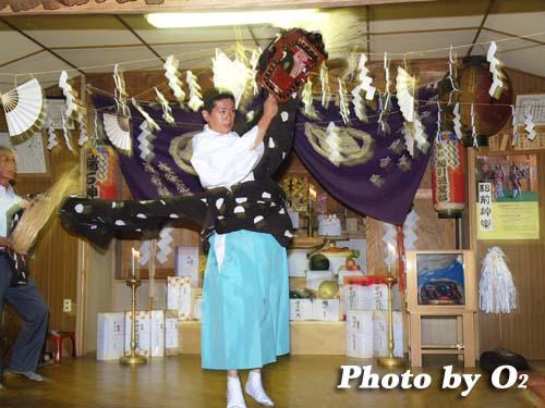 平成19年 瑞石神社 宵宮祭 十二の手獅子舞
