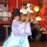 函館市・大森稲荷神社本祭「福田舞・神遊舞」(平成19年)