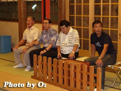 平成19年 湯倉神社 浦安の舞 練習風景 拝殿1