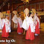 函館市・湯倉神社例大祭「浦安の舞と翁舞」(平成19年)