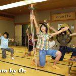 函館市・湯倉神社「浦安の舞練習風景」(平成19年)