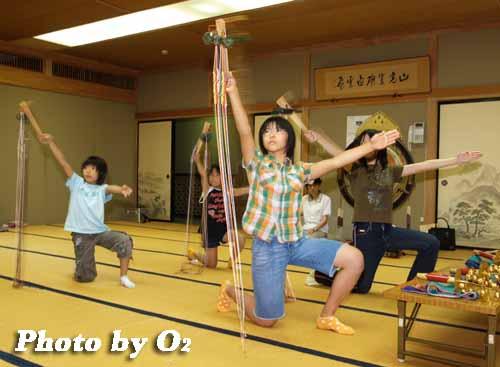 平成19年 湯倉神社 浦安の舞 練習風景1
