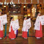 函館市・湯倉神社宵宮祭「浦安の舞と松前神楽」(平成19年)