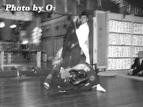 平成19年 湯倉神社本祭 松前神楽 獅子舞