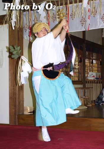 平成19年 小樽市 小樽ブロック合同公演 小樽稲荷神社 荒馬舞