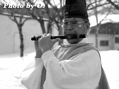 福島町 正月 神事 門祓 竜笛