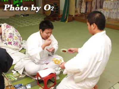 北海道 木古内町 平成20年 寒中みそぎ 行修者 2008 別当 稲荷