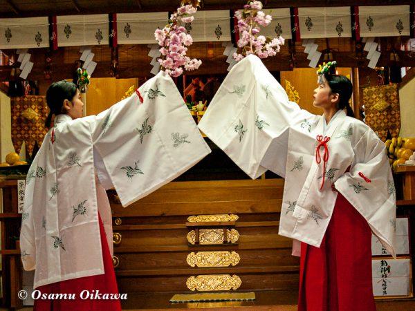 平成20年 函館市 石崎地主海神社 春季例祭 豊栄の舞04