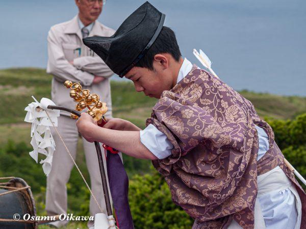 平成20年 上ノ国町 夷王山神社本祭 神楽舞 天王遊舞