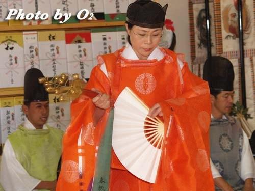 平成20年 鹿部町 本別稲荷神社 松前神楽 鈴上舞