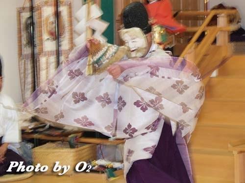 平成20年 鹿部町 本別稲荷神社 松前神楽 翁舞