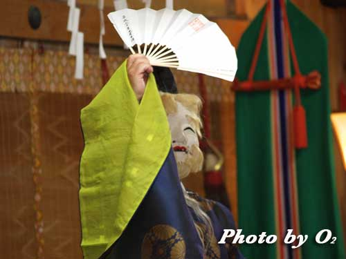 せたな町 事比羅神社 宵宮祭 松前神楽 翁舞