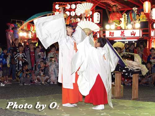 せたな町 事比羅神社 宵宮祭 松前神楽 鈴上舞