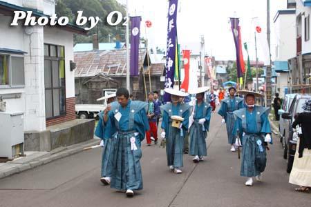 平成21年 古平町 琴平神社例祭 神社行列