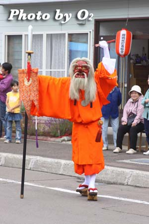 平成21年 古平町 琴平神社例祭 神社行列 猿田彦
