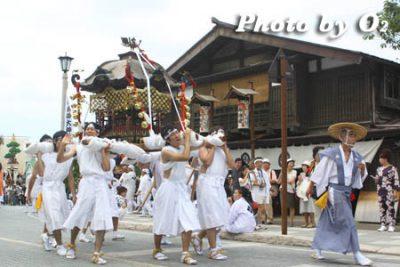 北海道,江差町,姥神大神宮渡御祭,山車,祭り,北海道遺産,下町巡幸,神輿