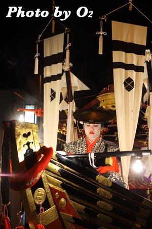 北海道,江差町,姥神大神宮渡御祭,山車,祭り,北海道遺産,上町巡幸,松寶丸