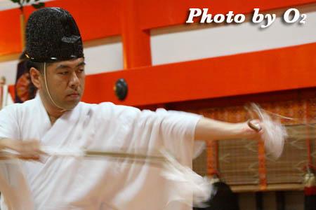 平成21年 函館市 大森稲荷神社 本祭 松前神楽 神遊舞