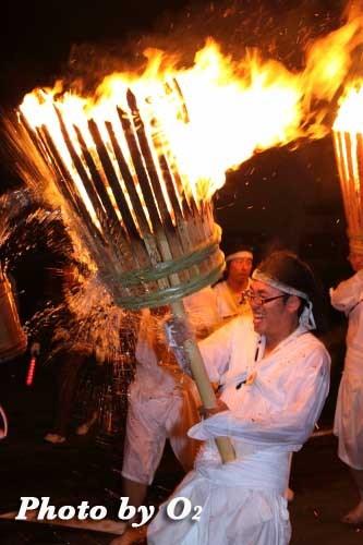 平成22年 美瑛神社宵宮祭 那智・美瑛火祭り 練り歩き