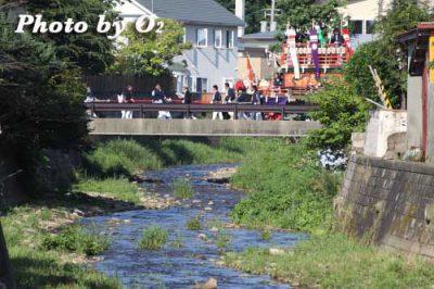 北海道,江差町,姥神大神宮渡御祭,山車,祭り,北海道遺産,平成22年,2010,下町巡幸