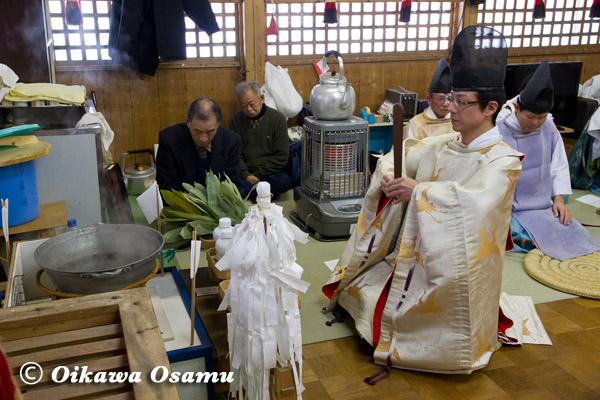 平成25年 福島町・白符大神宮・門祓い・新年祭 2013年