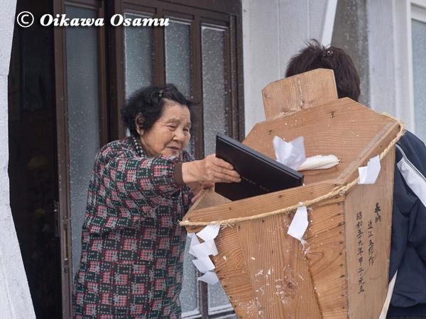 原口八幡神社 門祓い 2013