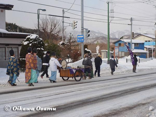 平成25年 福島町・新春門祓い神事 2013