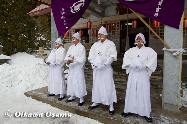 平成25年 木古内町・佐女川神社 寒中みそぎ 2013