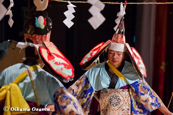 厚沢部町 合石神楽公演 八幡舞