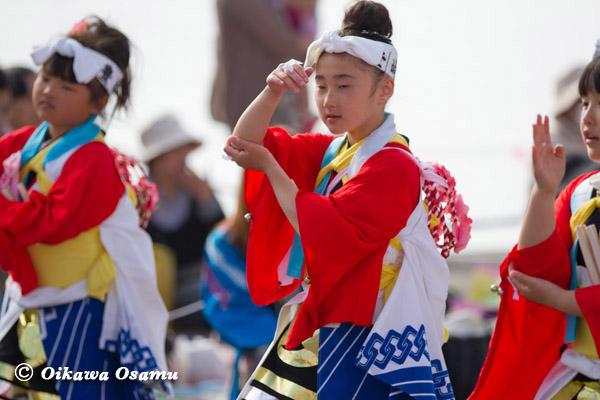 ひろめ舟まつり 2013 豊崎手踊り