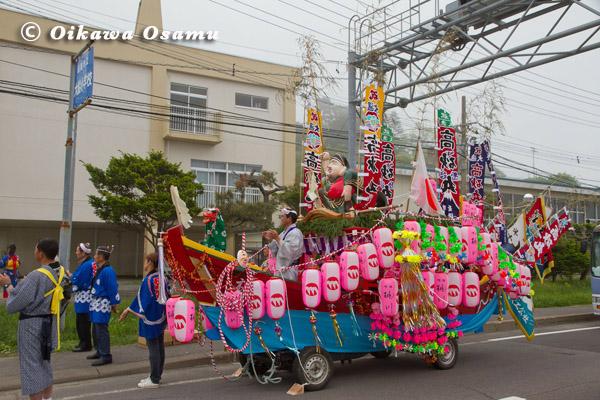 大船稲荷神社 渡御祭 舟山