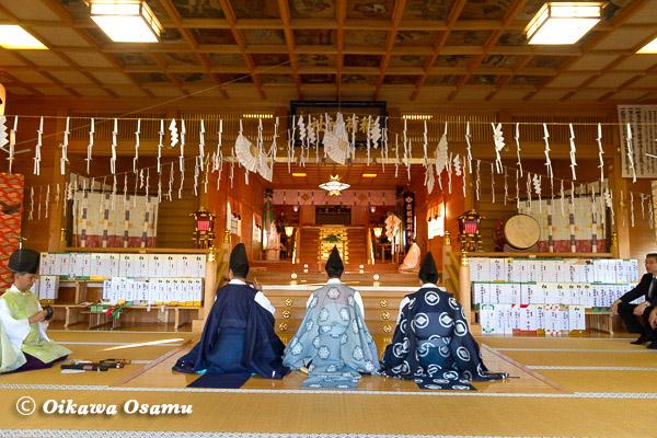 平成25年 鹿部稲荷神社宵宮祭 2013