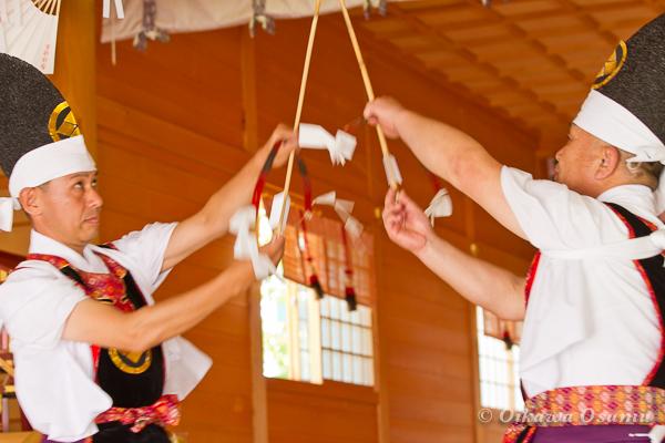 鹿部稲荷神社 2013本祭 神遊舞