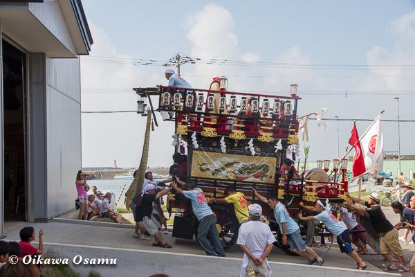祭りの後 山車会館